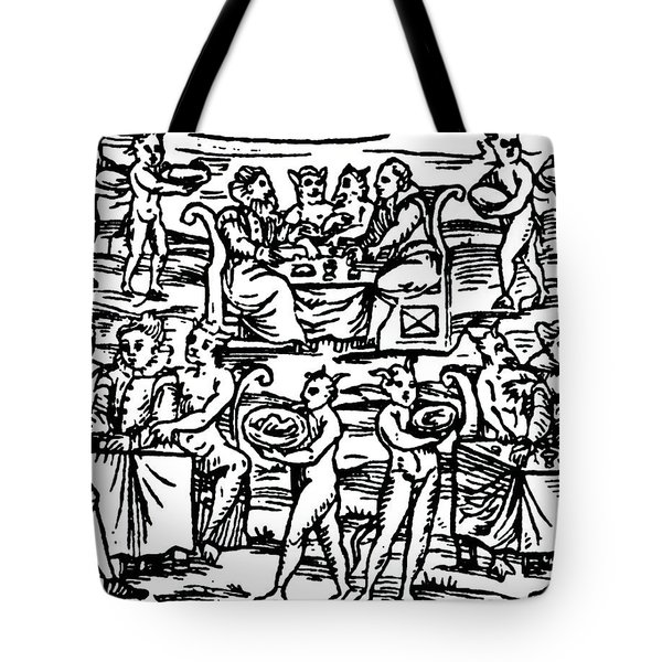 The Sorcerers Feast Tote Bag