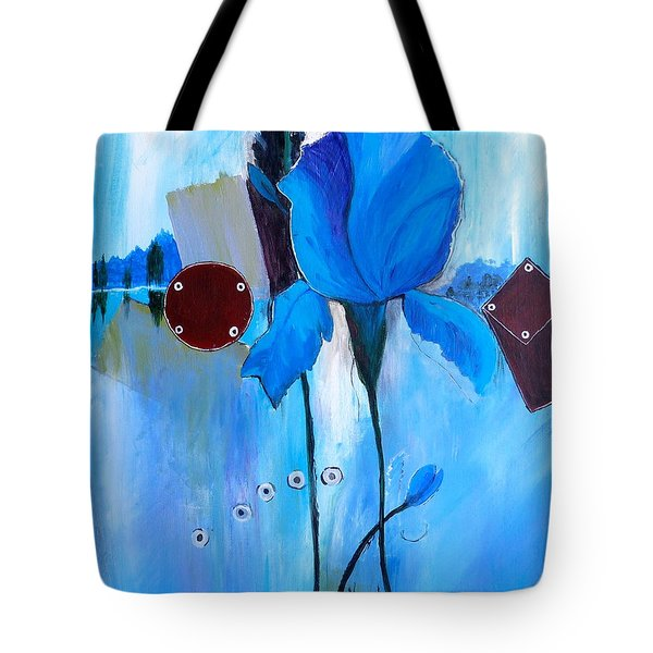 The Sound Of Blue Tote Bag