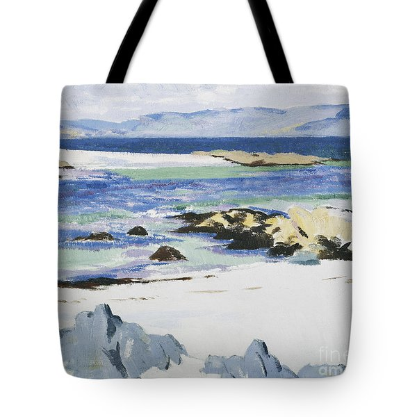 The Sound Of Mull From Iona Tote Bag