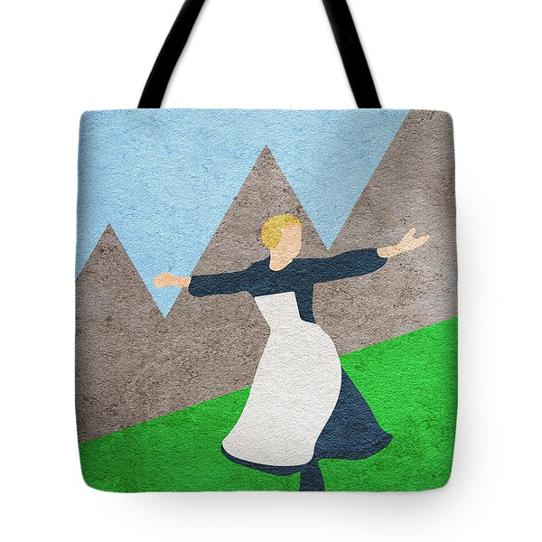 The Sound Of Music Tote Bag by Ayse Deniz