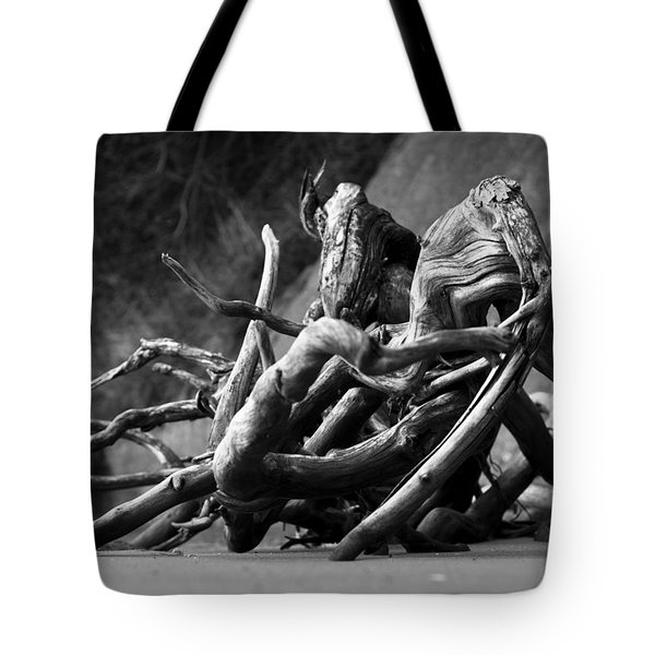 Tote Bag featuring the photograph The Sound The Sea Makes by Rebecca Sherman
