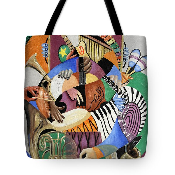 The Sounds Of Music By Anthony Falbo Tote Bag