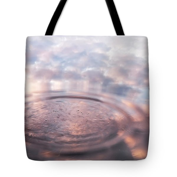 The Sounds Of Silence. Sacred Music Tote Bag by Jenny Rainbow
