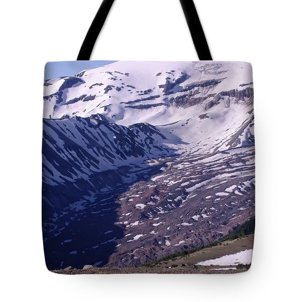 The Sourdough Basin Mount Rainer  Tote Bag