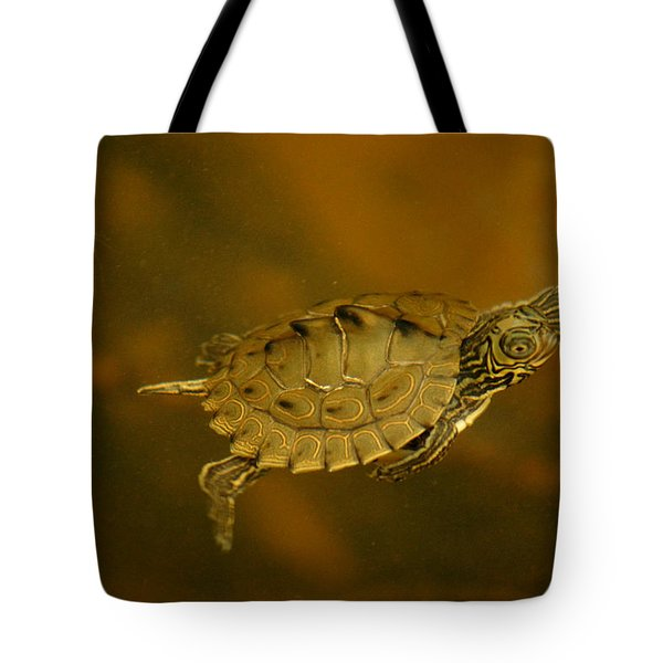 The Southeastern Map Turtle Tote Bag
