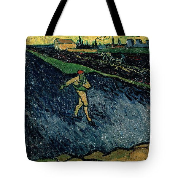 The Sower Tote Bag by Vincent van Gogh