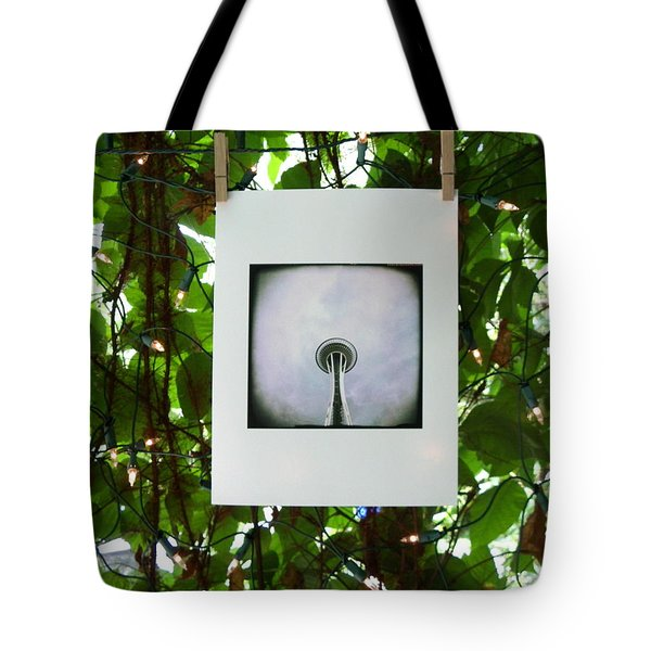 The Space Needle Tote Bag