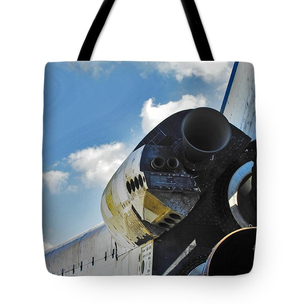 The Space Shuttle Endeavour Tote Bag