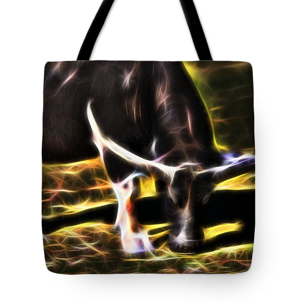 The Sparks Of Water Buffalo Tote Bag