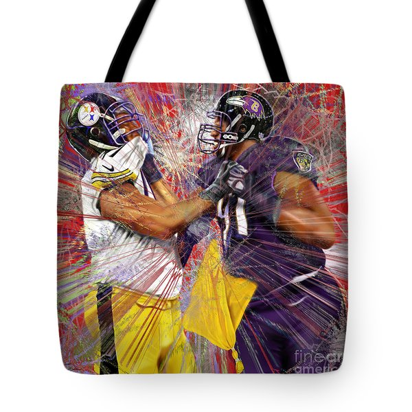 The Spectacle - Baltimore At Pittsburgh  Tote Bag