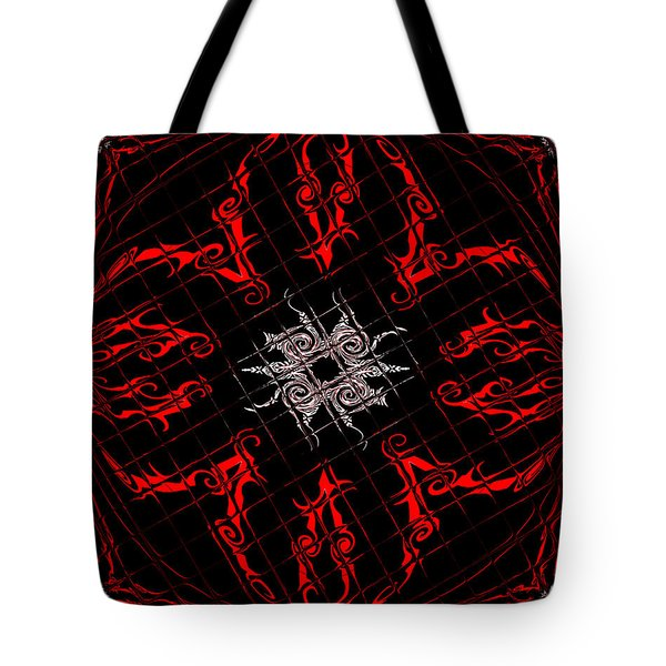 The Spider's Web  Tote Bag