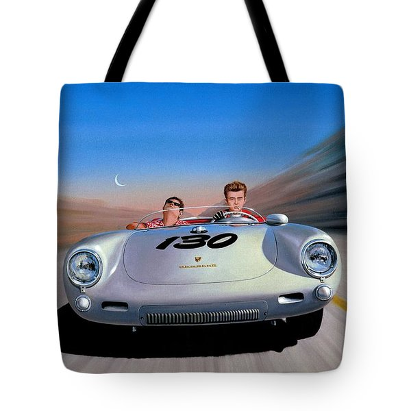 The Spirit Lives Tote Bag by Michael Swanson