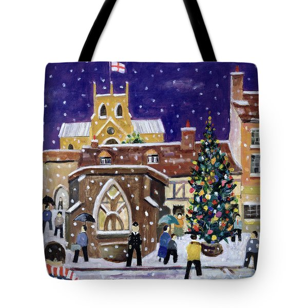 The Spirit Of Christmas Tote Bag by William Cooper