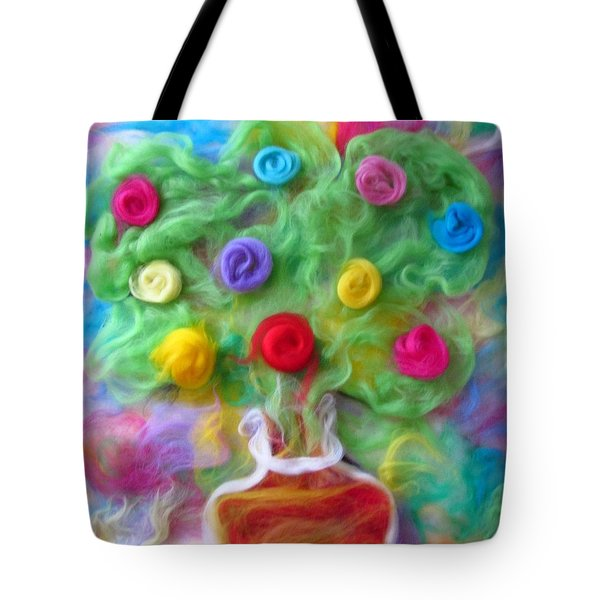 The Spirit Of Cider Tote Bag by Natalia Levis-Fox