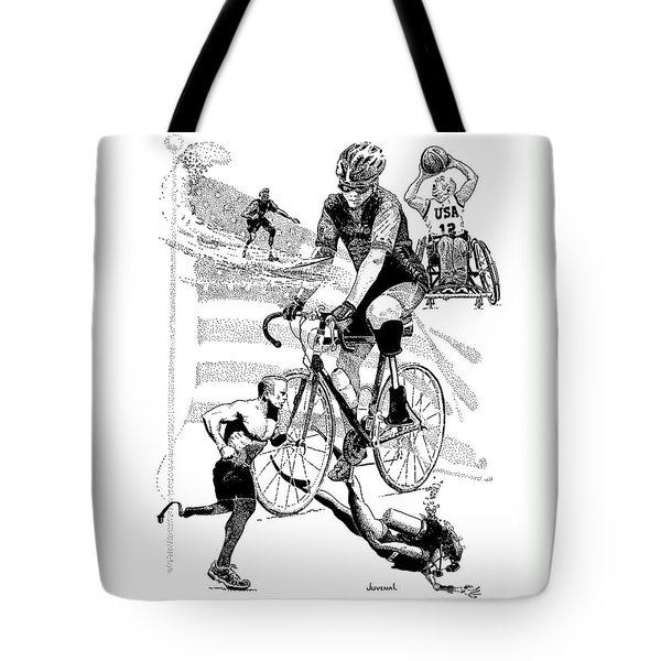 The Spirit Of Freedom Tote Bag by Joseph Juvenal