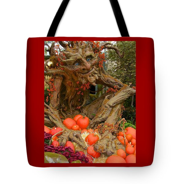 The Spirit Of The Pumpkin Tote Bag