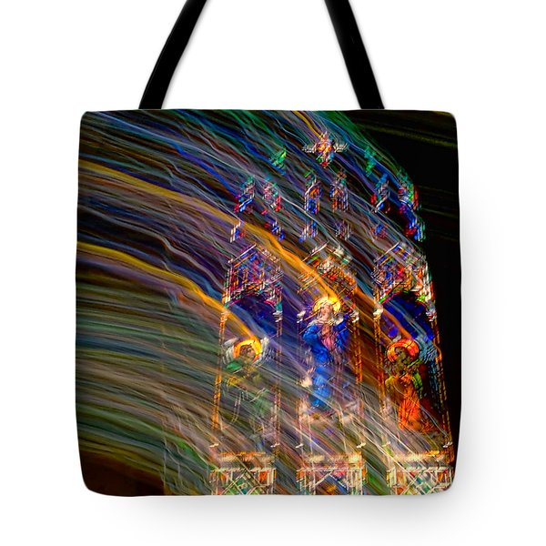 The Spirit Of The Saints Tote Bag by Kathleen K Parker