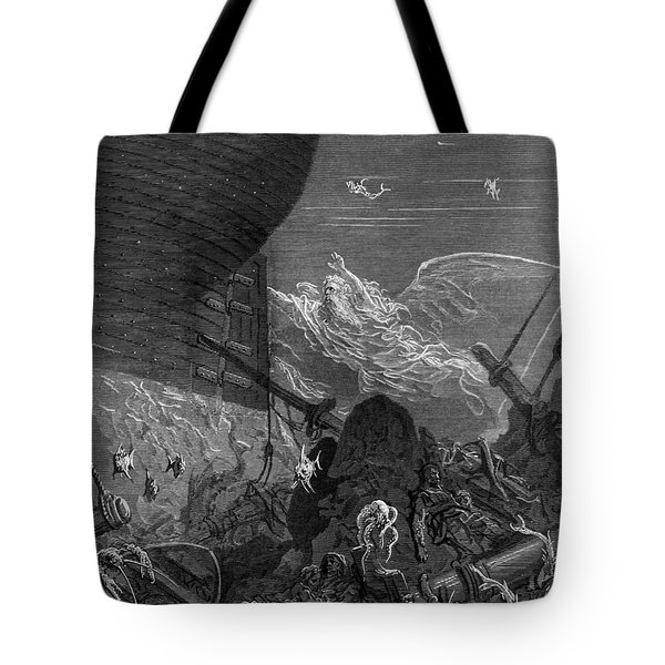 The Spirit That Had Followed The Ship From The Antartic Tote Bag