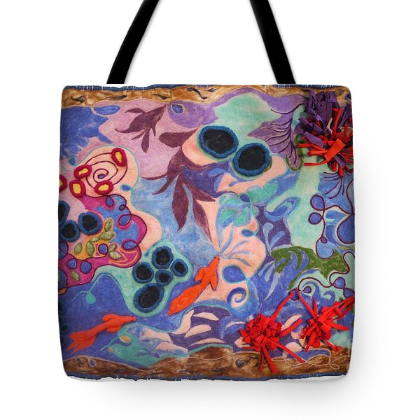 The Spiritual Component Tote Bag by Heather Hennick