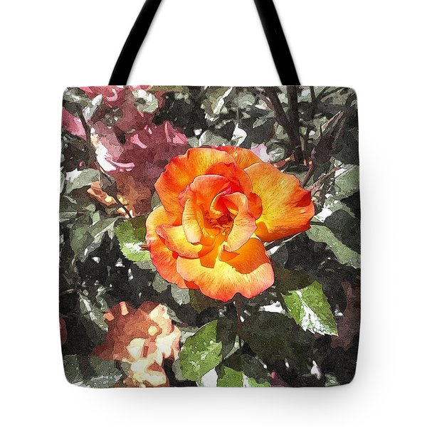 The Spring Rose Tote Bag by Glenn McCarthy Art and Photography