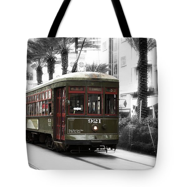 The St. Charles Tote Bag by John Rizzuto