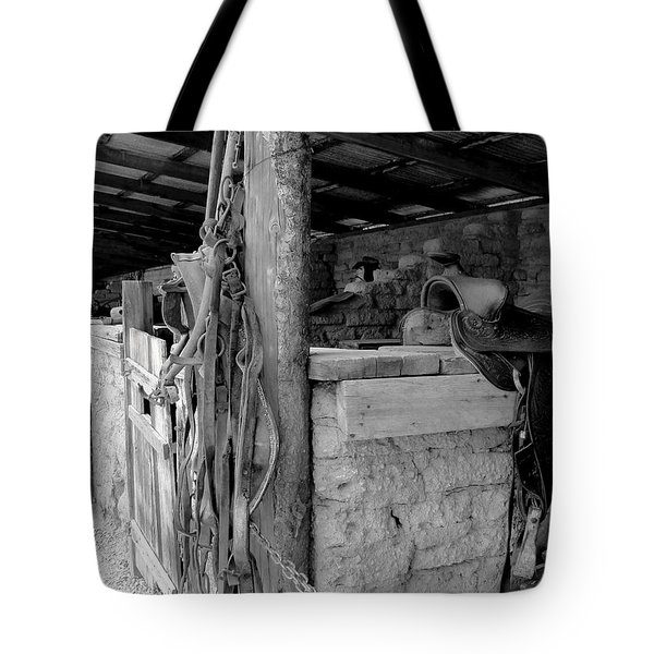 Tote Bag featuring the photograph Very Stable by Natalie Ortiz