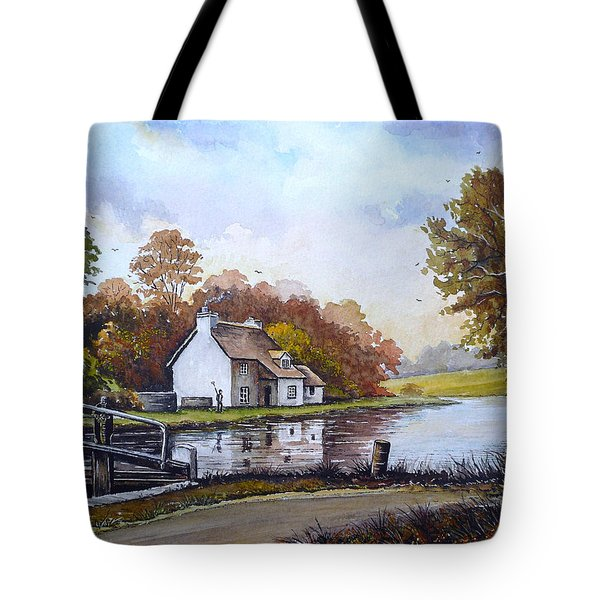 The Staffordshire And Worcestershire Canal Tote Bag by Andrew Read