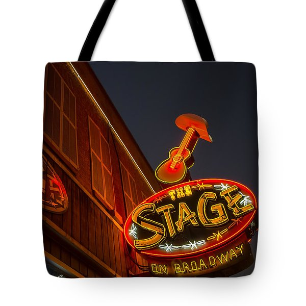 Tote Bag featuring the photograph The Stage by Glenn DiPaola