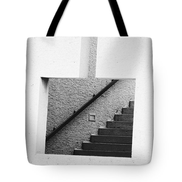The Stairs In The Square Tote Bag