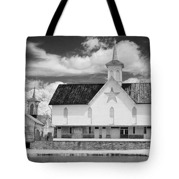 The Star Barn - Infrared Tote Bag