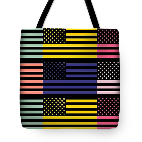 The Star Flag Tote Bag by Tommytechno Sweden