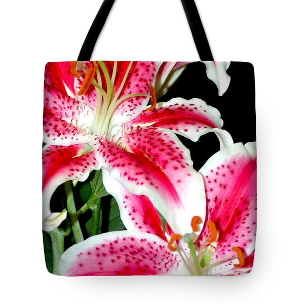 The Star Lily  Tote Bag