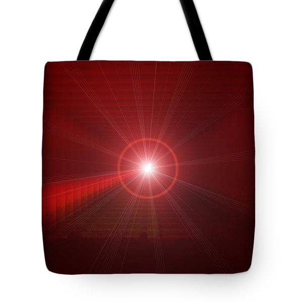 The Star Tunnel Tote Bag by Jeff Swan