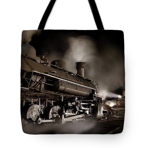 The Staredown Version 2 Tote Bag by Ken Smith