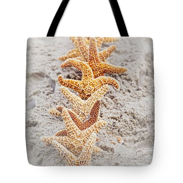 The Starfish Line Dance Tote Bag