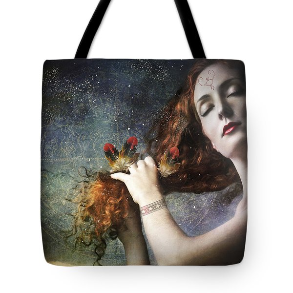 The Stars Are My Home Tote Bag