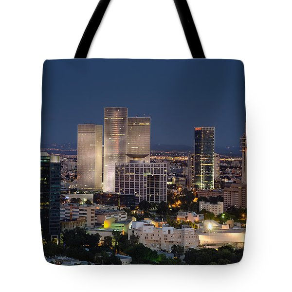The State Of Now Tote Bag by Ron Shoshani