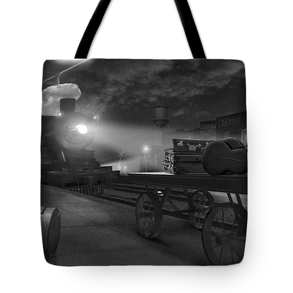 The Station - Panoramic Tote Bag