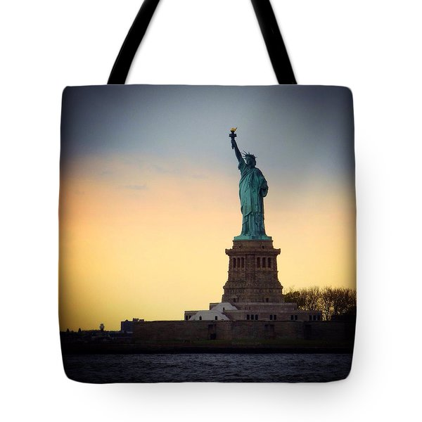 The Statue Of Liberty Tote Bag by Natasha Marco