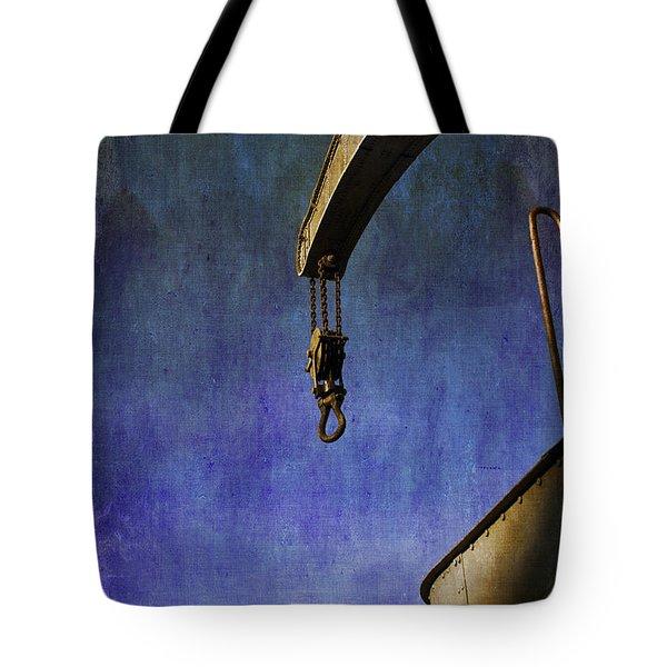 The Steam Crane Tote Bag by Brian Roscorla