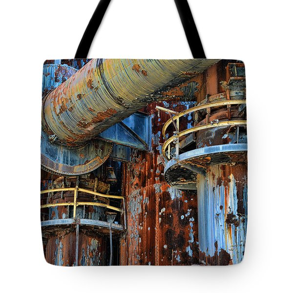 The Steel Mill Tote Bag