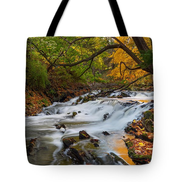 The Still River Tote Bag by Bill Wakeley