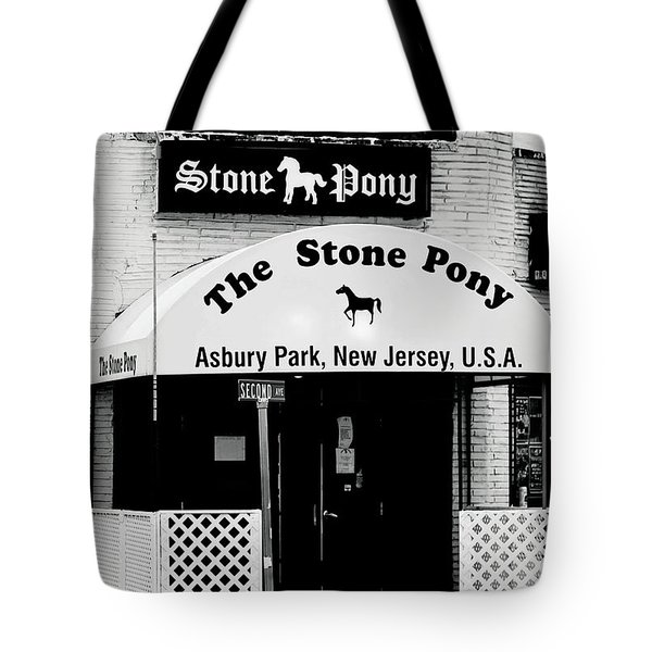 The Stone Pony Asbury Park Nj Tote Bag