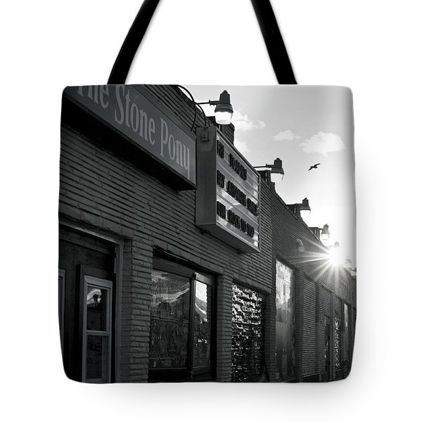 The Stone Pony Asbury Park Side View Tote Bag