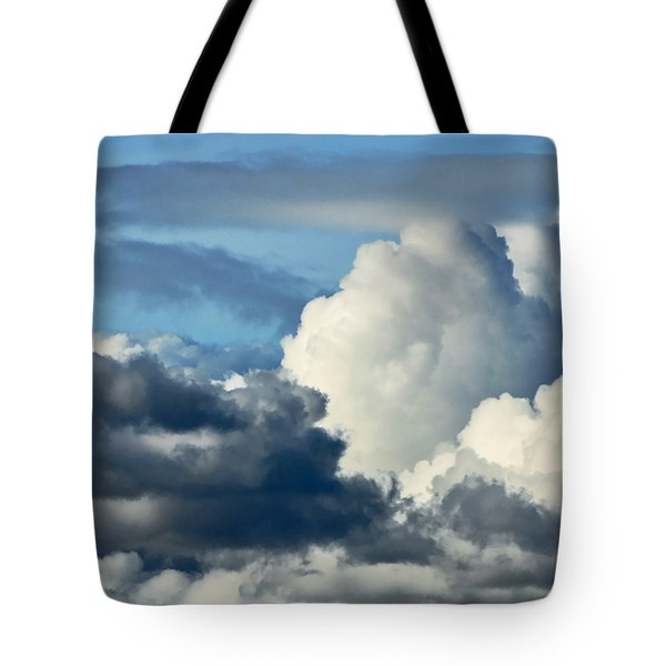 The Storm Arrives Tote Bag