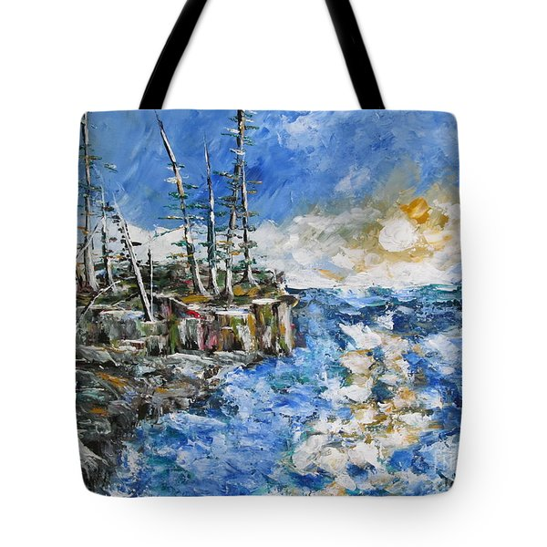 The Storm Tote Bag by Beverly Livingstone