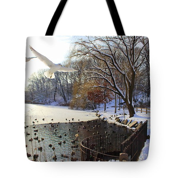 The End Of The Storm Tote Bag