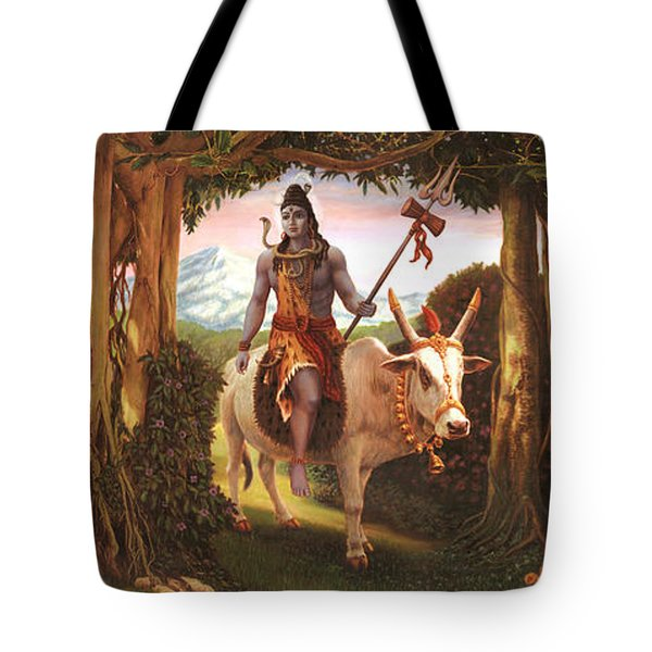 The Story Of Ganesha Tote Bag