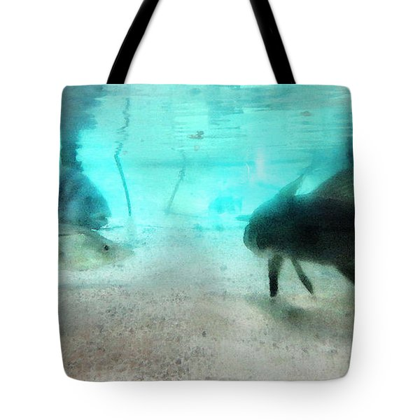 The Storyteller - A Fish Tale By Sharon Cummings Tote Bag by Sharon Cummings