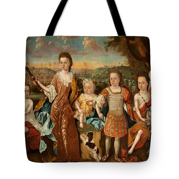 The Strachey Family, C.1710 Tote Bag by English School
